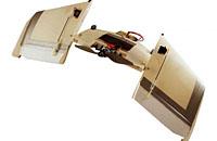 瑞士新型机器人能飞会跑:可用翅膀爬行