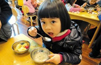 幼儿营养午餐