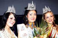 中国佳丽夺得世界聋人小姐桂冠