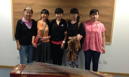 中国盲人研究所民族器乐关爱行动